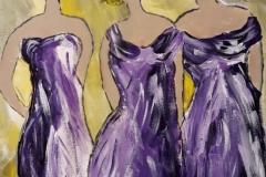 Dames in jurken