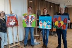 Cursus schilderijen maken