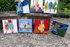 Theetuin schilderijen