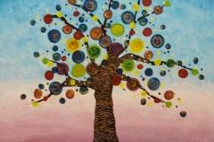 Vrolijke boom